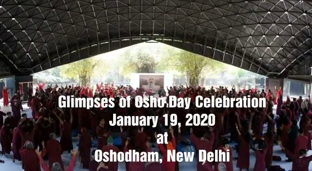 Osho Day Celebration at Oshodham 19 Jan 2020
